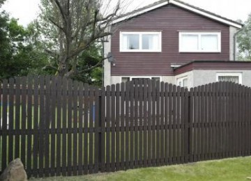 Our plastic fence projects
